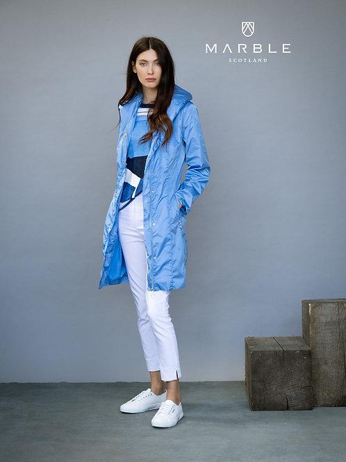 Sky Blue Rain Coat