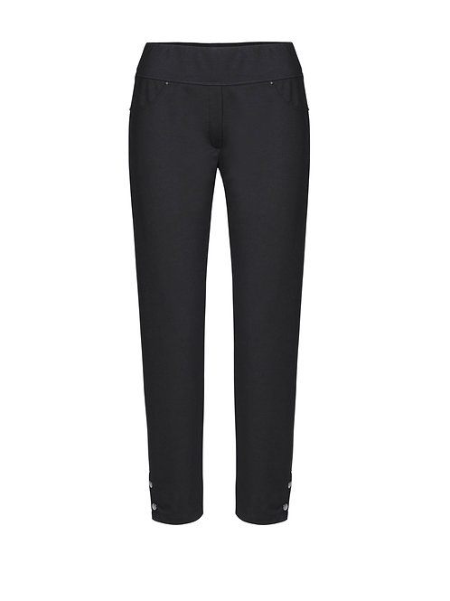 Dolcezza Black Ankle Length Joggers
