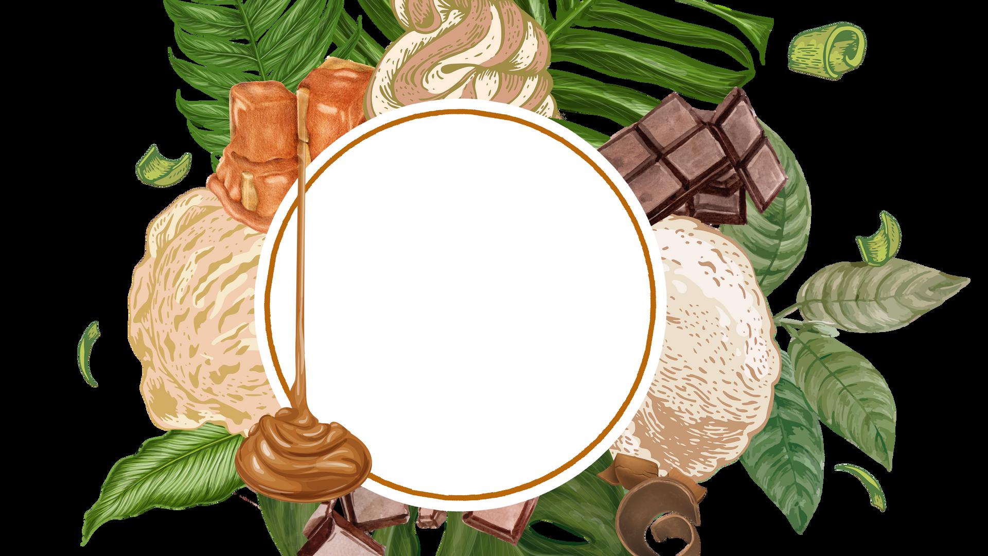 Caramel Illustration