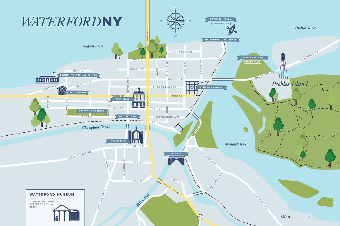 Waterford Town Map