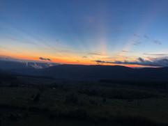 Sunset at Buffelskloof Nature Reserve