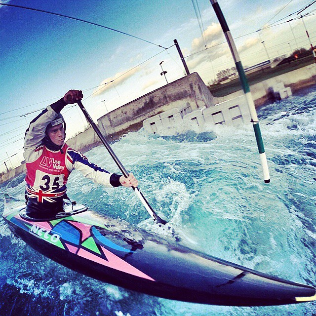 Sweet #gopro shot by _proctormark from yesterday afternoon _) #leevalley #canoeslalom #athlete #trai