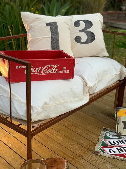 Cajon Coca Cola Vintage Rectangular