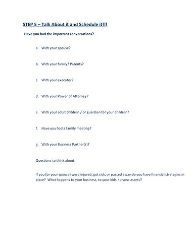 Path to FInancial Well-Being - Handout-5