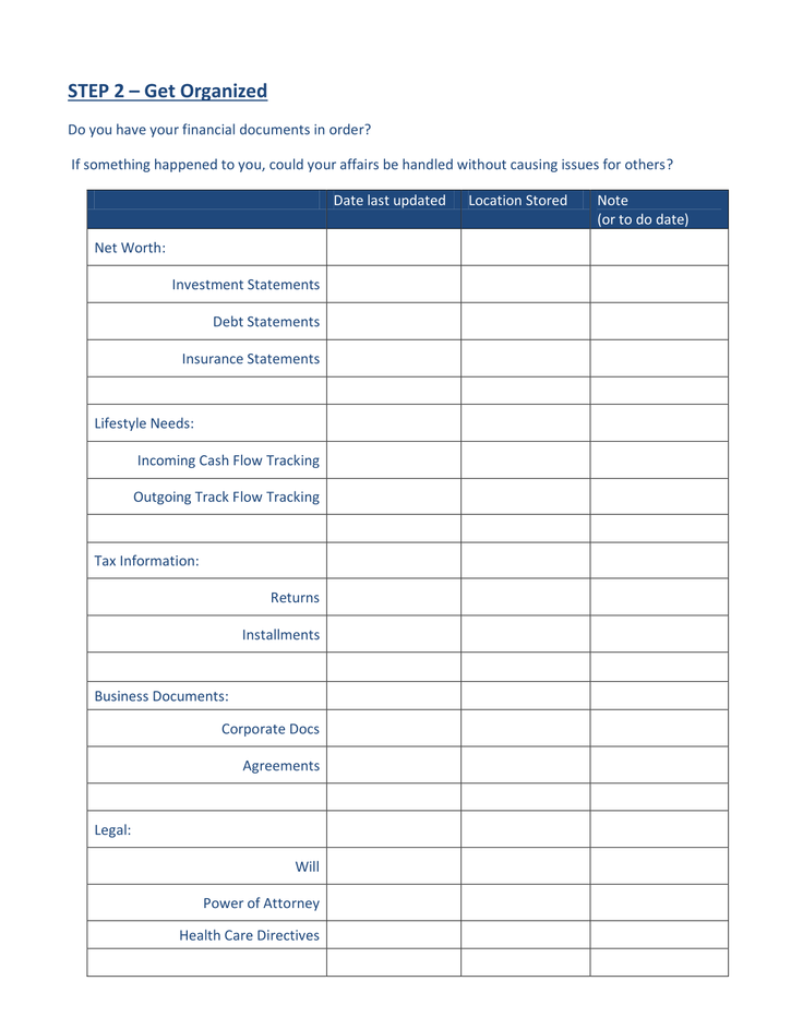 Path to FInancial Well-Being - Handout-2