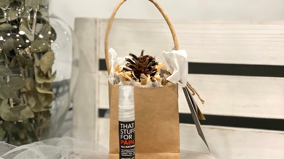 Fire Starter Gift Packaged/That Stuff For Pain - Trial Size