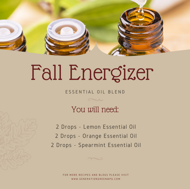 Fall Energizer Essential Oil Blend