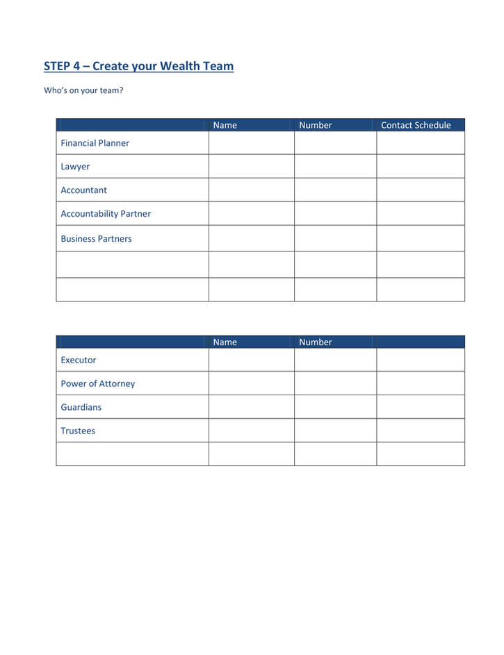 Path to FInancial Well-Being - Handout-4