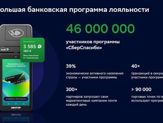 Программа лояльности «СберСпасибо» доступна малому и среднему бизнесу Тюменской области