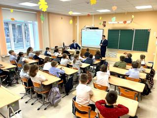 О правилах финансовой безопасности рассказал тюменским школьникам руководитель Сбера
