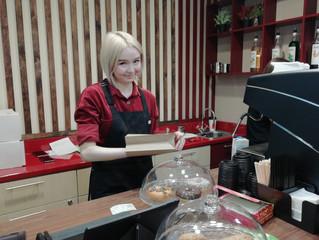 В главном офисе Сбербанка в Кургане можно купить кофе