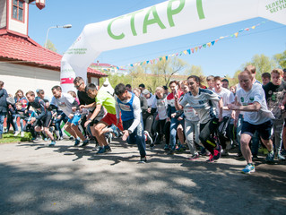 Зеленый марафон в Кургане: спортивные и погодные рекорды