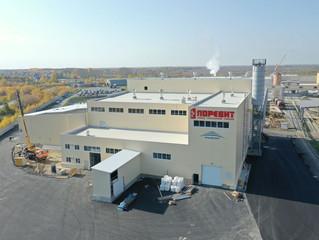 Завод по изготовлению тротуарной плитки «Поревит» открылся в Ялуторовске при поддержке Сбербанка