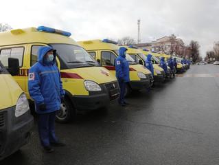 Сбербанк профинансировал приобретение 46 машин скорой помощи для Тюменской области
