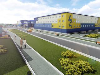 Новый корпус школы-интерната в поселке Гыда на Ямале строится при финансовой поддержке Сбербанка