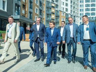 Сбербанк финансирует жилой комплекс «Айвазовский», который получил высокую оценку замминистра