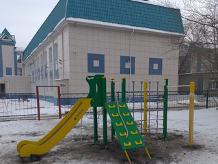 Сбербанк профинансировал строительство детской площадки в больнице