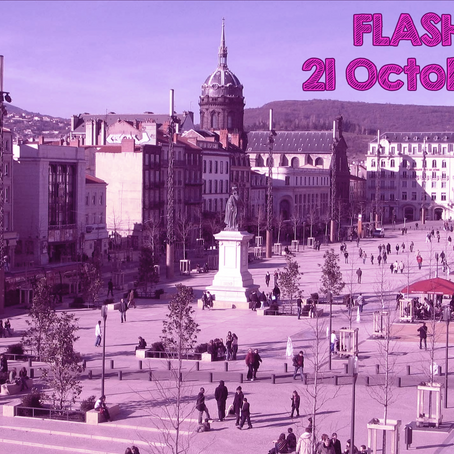 Flash Mob géant Place de Jaude