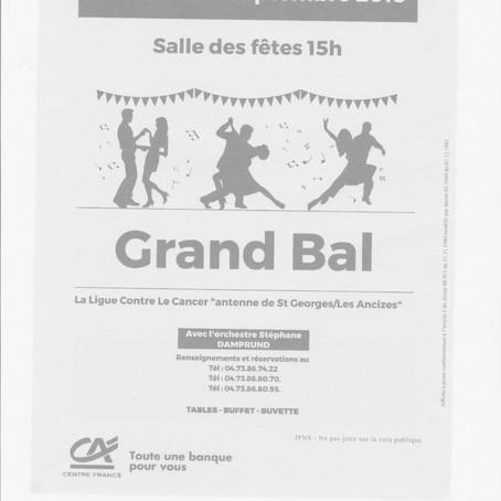 Grand bal à St-Georges-de-Mons