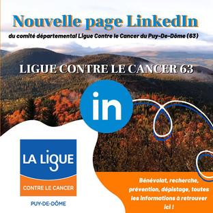 Nous sommes sur LinkedIn !