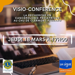 Visio conférence Tulipes contre le cancer