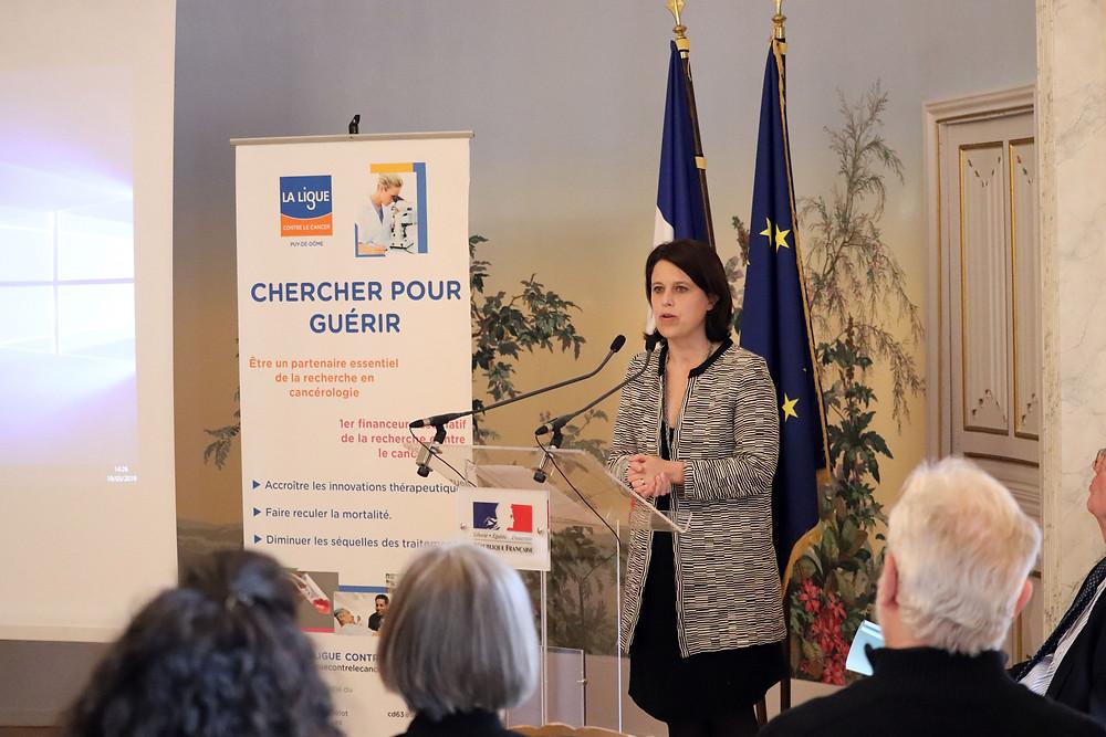 Discours de la Préfète Anne-Gaëlle Baudouin-Clerc