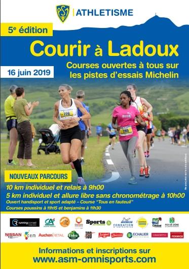 Courir à Ladoux 2019 flyer
