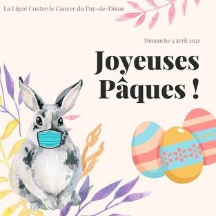 Joyeuses Pâques à toutes et tous !