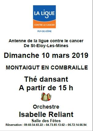 Thé dansant Saint-Eloy-les-Mines
