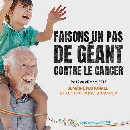 Semaine nationale de lutte Contre le Cancer & Mars Bleu