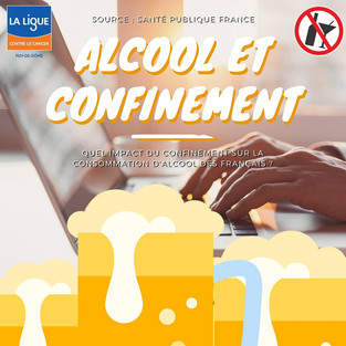 Alcool et confinement