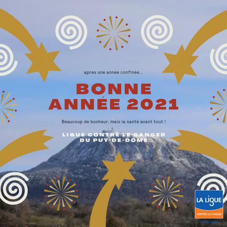 Bonne année 2021 à toutes et tous ! ❤️