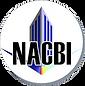 White circle with the NACBI logo inside