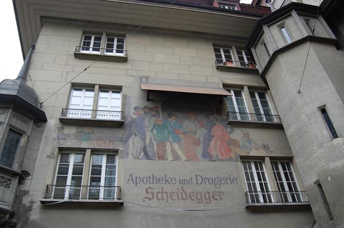 Frescoes in Switzerland, Bern