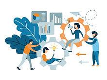 flat-style-modern-teamwork-workforce-sta