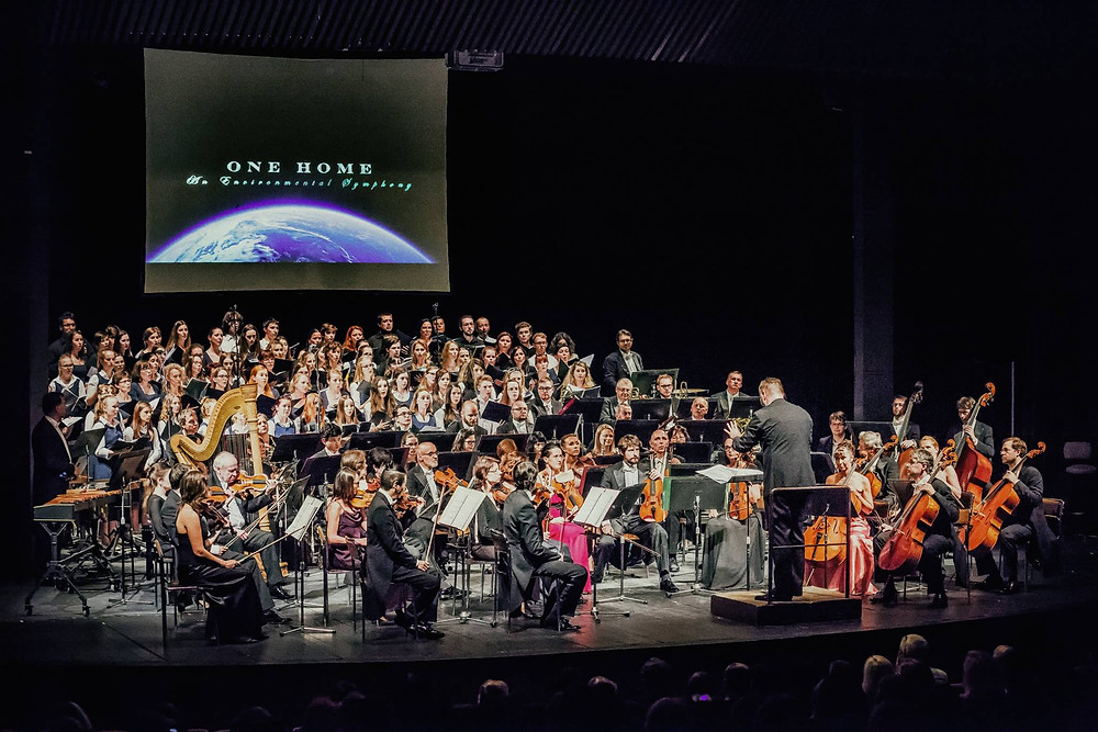 South Czech Philharmonic performing ONE HOME in 2018
