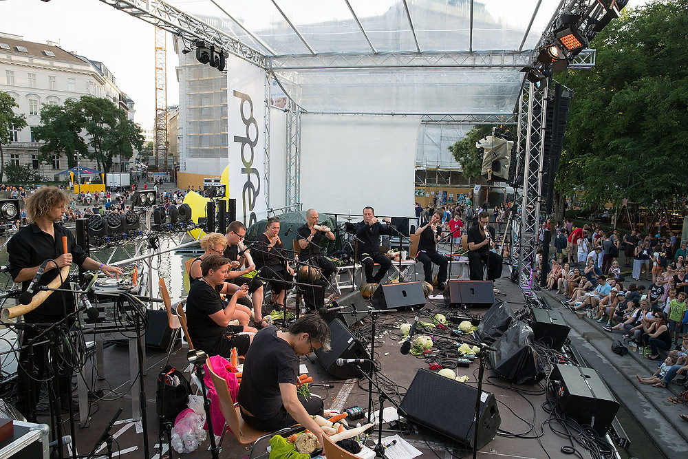 The Vienna Vegetable Orchestra live in 2015