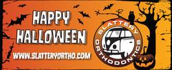 Slattery Halloween Banner