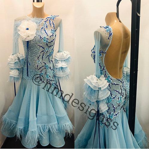 Vestido Light Blue