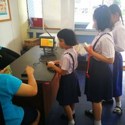 รูปภาพอ้างอิงการใช้งานระบบ บจก.มายโฮสท์ โรงเรียนโรงเรียนเซนต์ยอแซฟนครพนม