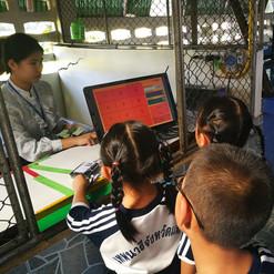 รูปภาพลูกค้าอ้างอิงการใช้งานระบบ บจก.มายโฮสท์ โรงเรียนเทพนารี