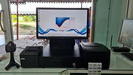 ติดตั้งระบบPOS+Printer Barcode ที่ร้านดี