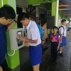 บจก.มายโฮสท์ การใช้งานระบบของโรงเรียนอนุพงศ์พัชรินทร์
