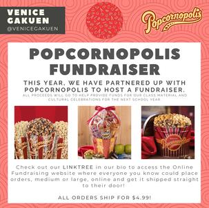 Please Support the Venice Gakuen Popcornopolis Fundraiser!