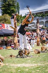 Puhoi Pub Woodchopping Carnival 2021