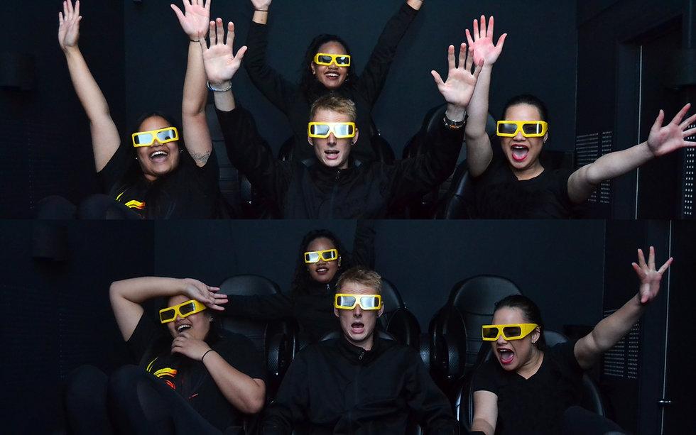 Vortex 12D Motion Theatre in Thrillzone Queenstown