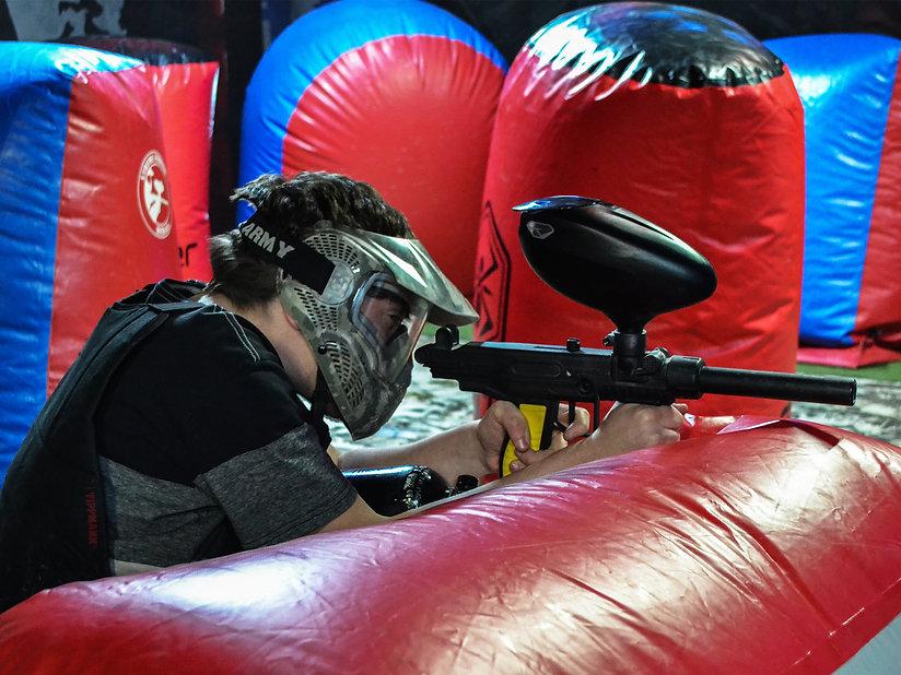 Indoor Paintless Paintball in queenstown new zealand thrillzone