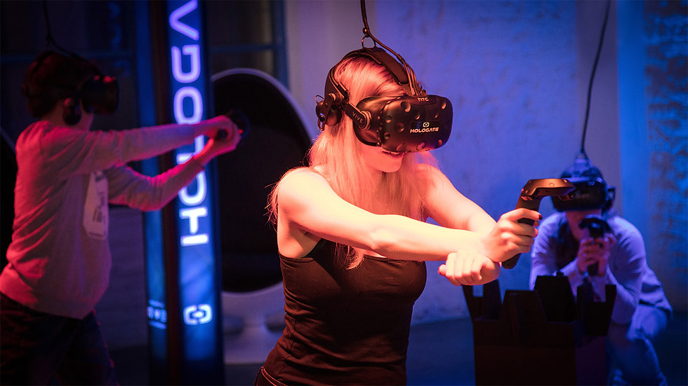 Hologate VR Multiplayer Virtual Reality Games in Takapuna and Queenstown
