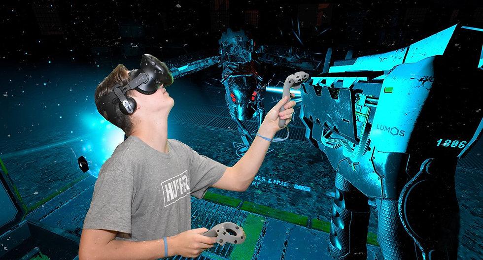 360 VR games in takapuna Thrillzone