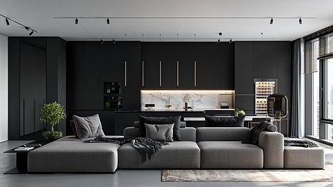www.behance.net a-v Monochrom-Living-Room-FREE3d-modeldfdefa118719035.608f27ad561b0.jpg
